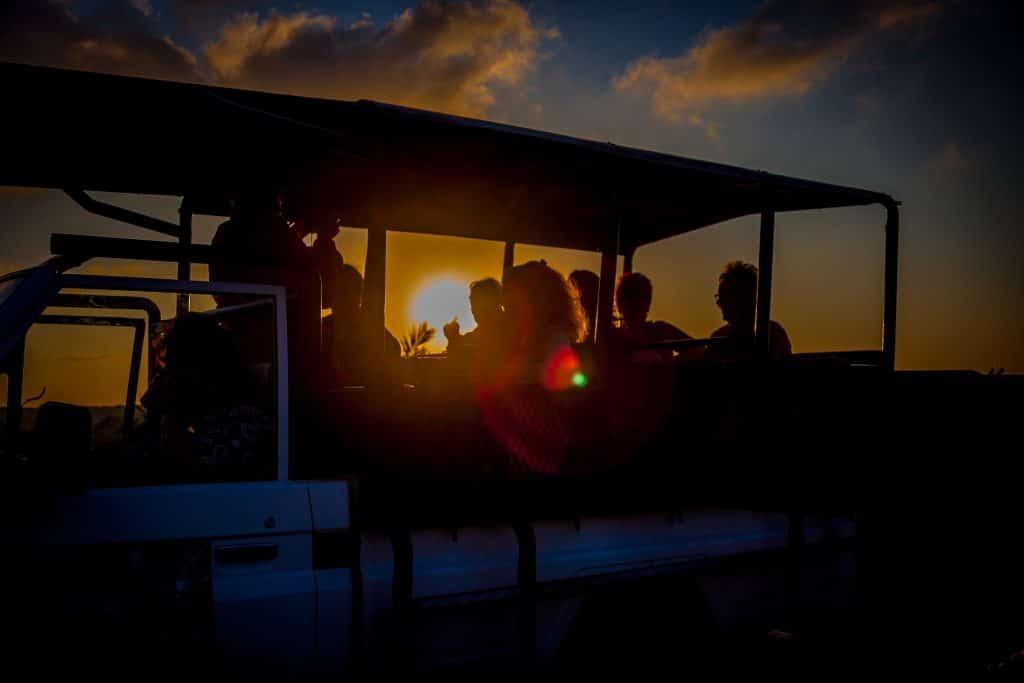 night drive safari isimangaliso wetland park