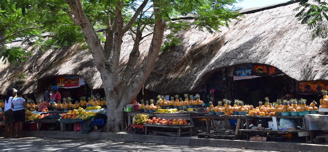 st lucia local fruit market