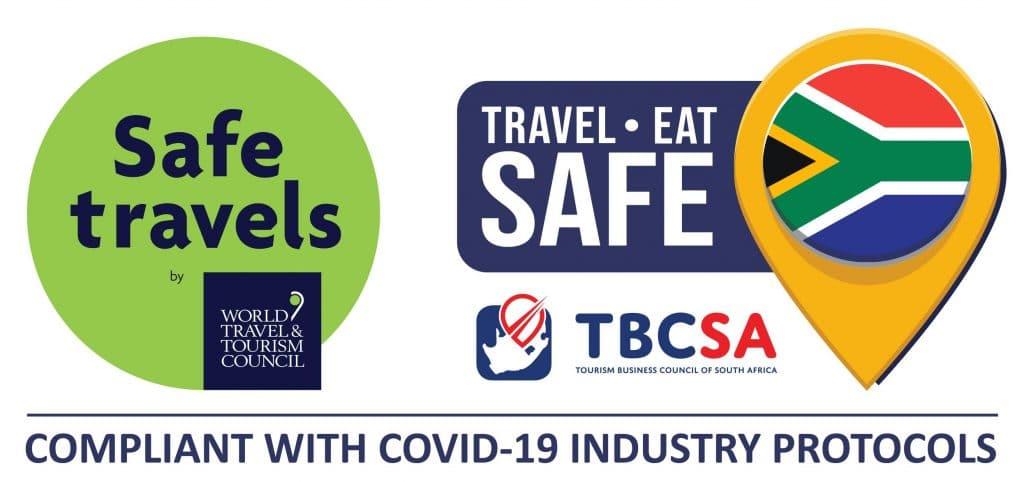 TBCSA TravelSafe EatSafe Badge